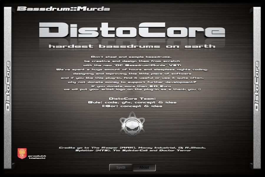 DistoCore Bassdrum::Murda About