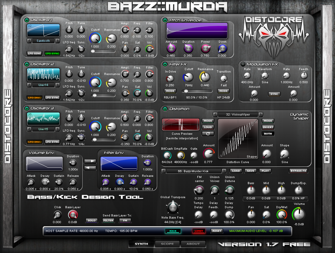 DistoCore Bazz::Murda Synth