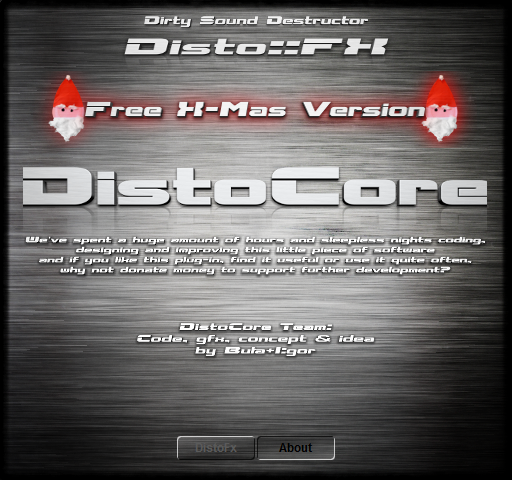 DistoCore Disto::Fx About